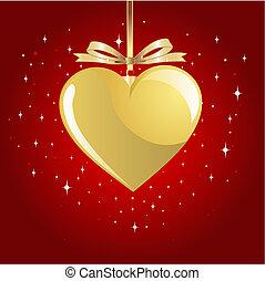 coeur, or, valentin