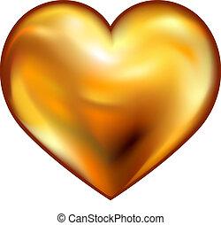coeur, or