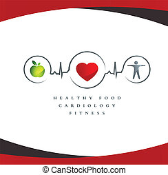 coeur sain, symbole