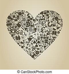 coeur, science