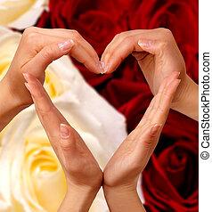 coeur, symbole, 2