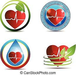 coeur, symbole, humain