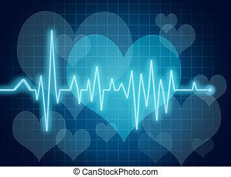 coeur, symbole, santé