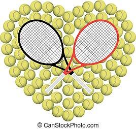 coeur, tennis