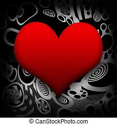 coeur, tension