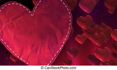coeur, valentines, boucle
