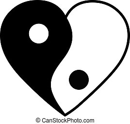 coeur, yang yin