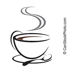 cofee, illustration