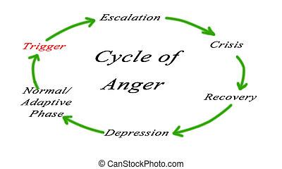 colère, cycles