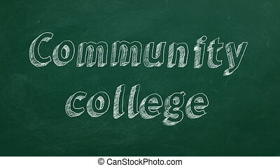 collège, communauté
