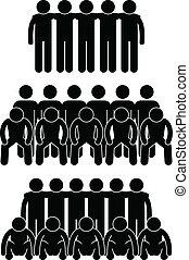 collaboration, équipe, coéquipier, groupe