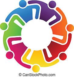 collaboration, étreindre, 7