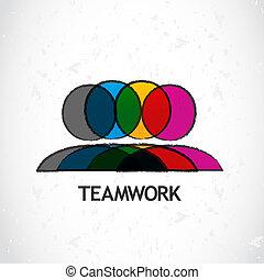 collaboration, constitué