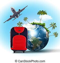 collage, tourisme voyage