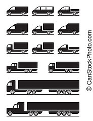 collectes, camions