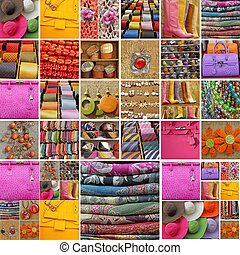 collection, accessoires