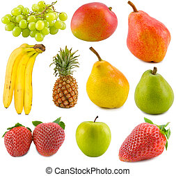 collection, fruits