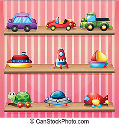 collection, jouets