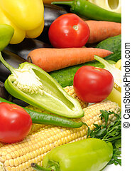 collection, légumes