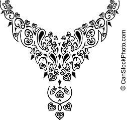 collier, conception mode