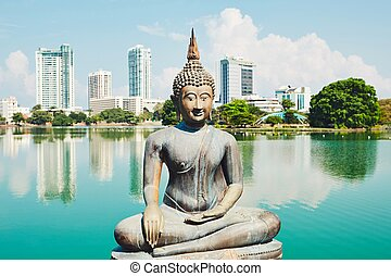 colombo, temple, budhist