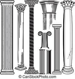 colonne, collection