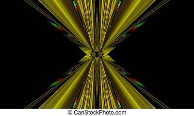 coloré, cristal, arrière-plan., clair, réflexions, iridescent, kaléidoscope