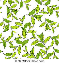 coloré, fond, leaves.