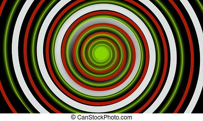 coloré, hypnotique, spirale