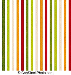 coloré, vertical, modèle, raie, -, raies, jaune, vert, retro, fond, beige, rouges