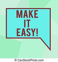 colorez photo, facile, il, forme, vide, faire, écriture, difficultés, texte, conceptuel, approche, easy., intelligent, business, projection, gratuite, main, soucis, circles., déformé, ou, petit, rond