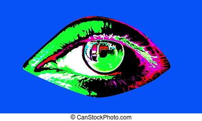 "colors"", clair, oeil, humain, ""animation"