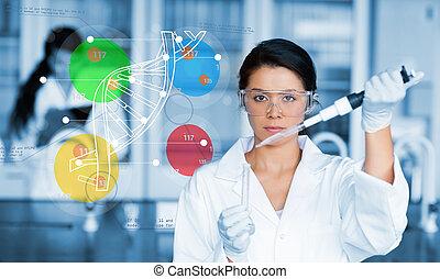 colou, sérieux, fonctionnement, chimiste