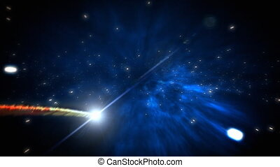 comète, boucle