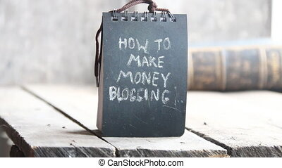 comment, faire, argent, blogging