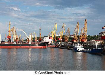 commerce, port