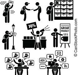 commercialisation, annonce, stratégie