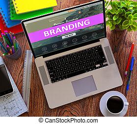 commercialisation, concept., branding., ventes