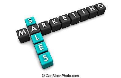 commercialisation, ventes