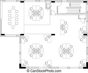 commerical, disposition, bureau, floorplan