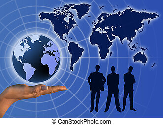 communication, affaires globales