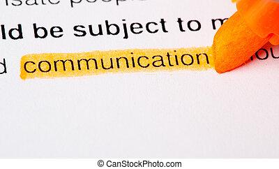 communication, def
