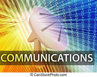 communications, illustration