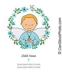 communion, ange, mon, card., premier, prier