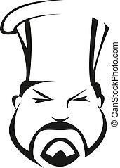 compétent, sérieux, chef cuistot