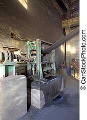 compacting, machinerie, équipement