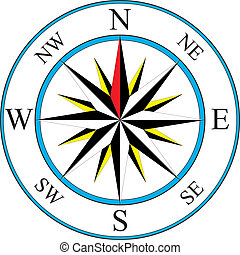 compas, icône
