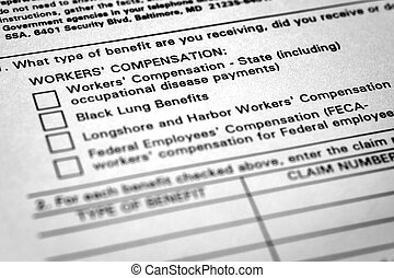 compensation, blessé, formes, métier, ouvriers