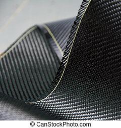 composite, carbone, matériel, fibre