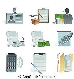 comptabilité, icône